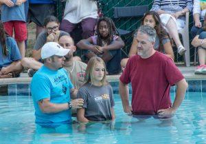 YBC 2015 baptism