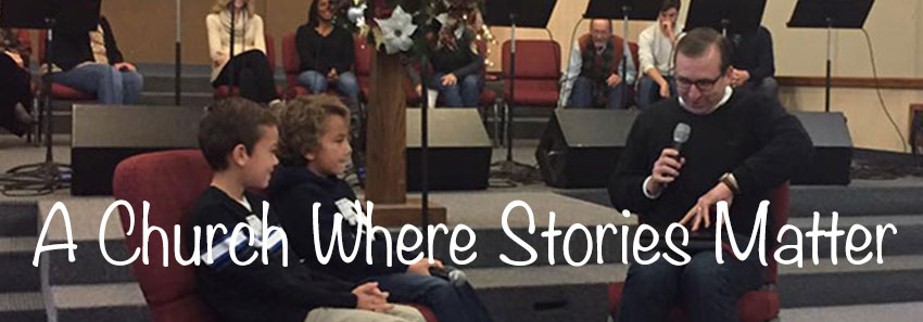 A Church Where Stories Matter